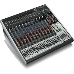 Behringer X2442USB Xenyx Series Premium 24-Input 4/2-Bus Mixer with XENYX Mic Preamps