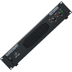 Behringer EP4000 Europower Series 2 Channel Professional 4000W Stereo Power Amplifier with ATR Technology