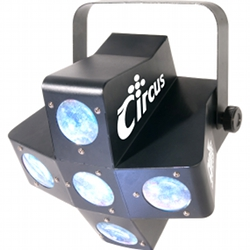 Chauvet Circus Colourful 5 Pod LED DMX Effect Light