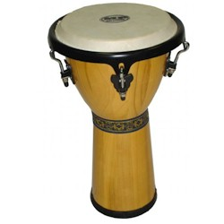 Mano Percussion MP1512NA DJEMBE 12-inch NATURAL - TUNEABLE - CLEARANCE