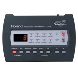 Roland TD3 SOUND MODULE WITH POWER SUPPLY - CLEARANCE
