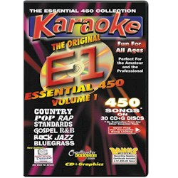 Chartbuster ESS450 Collection Vol 1 Karaoke Pack