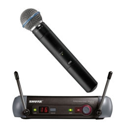 Shure PGX24/BETA58 Handheld Wireless System