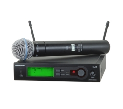 Shure SLX24-Beta58 Handheld Wireless System