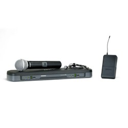 Shure PG1288-PG185 Vocal-Lavalier Combo Wireless System