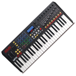 akai mpk249 49 semi weighted key performance keyboard controller with aftertouch acclaim sound. Black Bedroom Furniture Sets. Home Design Ideas