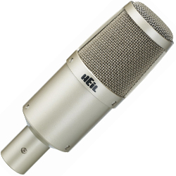 Heil Sound PR30 Dynamic Microphone with Hum Bucking Coil and Large Diaphragm
