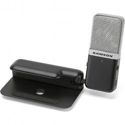 Samson GoMicB Portable USB Condenser Microphone in Black