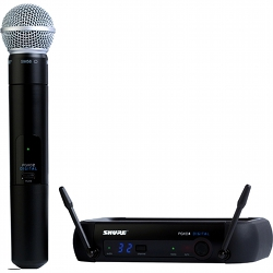 Shure PGXD24/SM58-X8 Handheld Transmitter, Receiver and Microphone