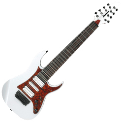 Ibanez TAM10-WH Tosin Abasi Signature Body 8 String Electric Guitar in White