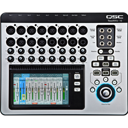 QSC Audio TOUCHMIX-16 16-Channel Digital Mixer with Touch Screen and Carrying Case
