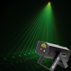 American DJ MICRO 3D Red Green Starfield Effect Laser (discontinued clearance)