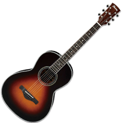 Ibanez AVN1-BS 6 String Artwood Vintage Acoustic Guitar in Brown Sunburst High Gloss ** DISCONTINUED CLEARANCE