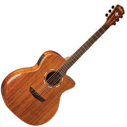 Washburn WCG55CE Grand Auditorium Cutaway 6 String Acoustic Electric Guitar