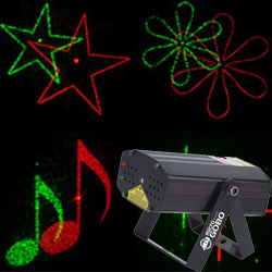 American DJ MICRO-GOBO Green and Red Laser projector (discontinued clearance)