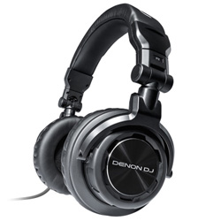 Denon DJ DN-HP800 Isolation Headphones with Dual Sized Connectors