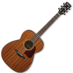 ibanez ac240 opn 6 string artwood grand concert body acoustic guitar with open pore natural
