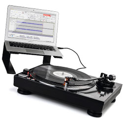 Reloop RP-2000 USB Quartz Driven DJ Turntable with Direct Drive
