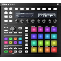 Native Instruments Maschine MK2 BLK DJ Controller in Black
