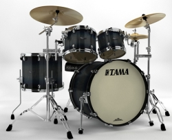Tama MA42ZS-SIB Starclassic Maple Drum Shell kit Smokey Indigo Burst