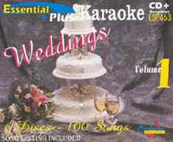 Chartbuster ESP463 Pack CBESP463 Wedding Karaoke Pack
