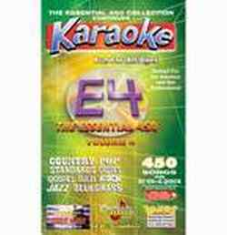 Chartbuster ESS450 Collection Vol 4 Karaoke Pack