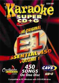 Chartbuster ESS450 Super Vol 1 Karaoke Pack