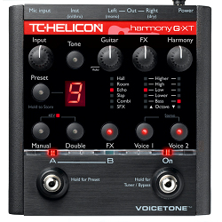 TC Electronics VoiceTone HarmonyG XT Vocal Harmony &amp; Effects Processor