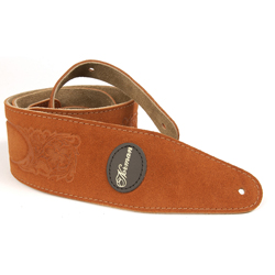 Norman 037384 Rust Western Suede w/ Patch Logo