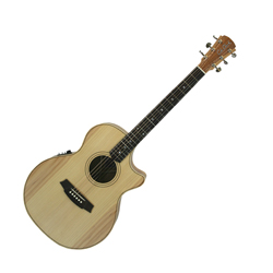 Cole Clark CCAN2ECBB Grand Auditorium Guitar w/PU & Cutaway -Bunya/Blackwood