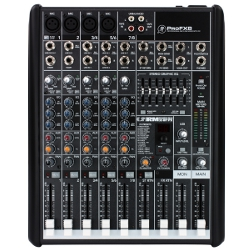 Mackie PROFX8 8-Channel Compact Effects Mixer with USB (discontinued new in box) (Clearance)