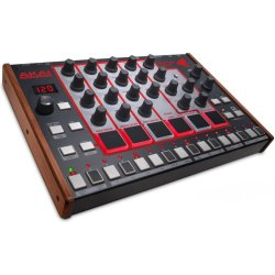 Akai Rhythm Wolf Analog Drum Machine/Bass Synthesizer Module, with 32-step Sequencer and Analog Distortion