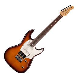 Godin 033966 Session Lightburst HG RN 6 String Electric Guitar