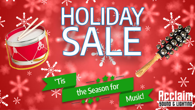 Holiday Deals - Tis the season for music!