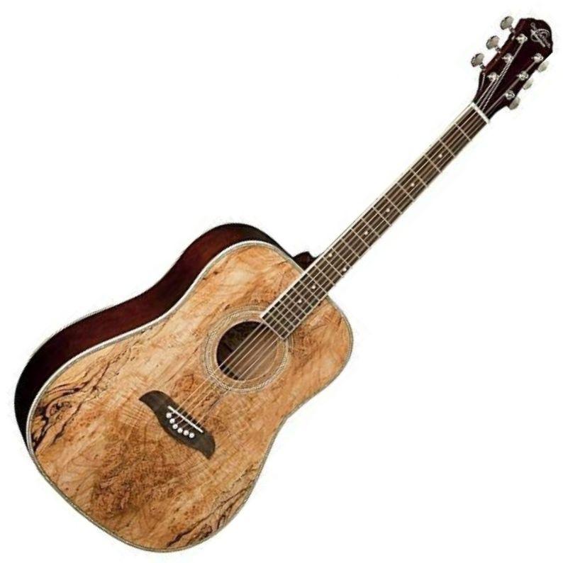 Oscar Schmidt Model OG1BLH Black Left Handed 3//4 Size Acoustic Guitar NEW