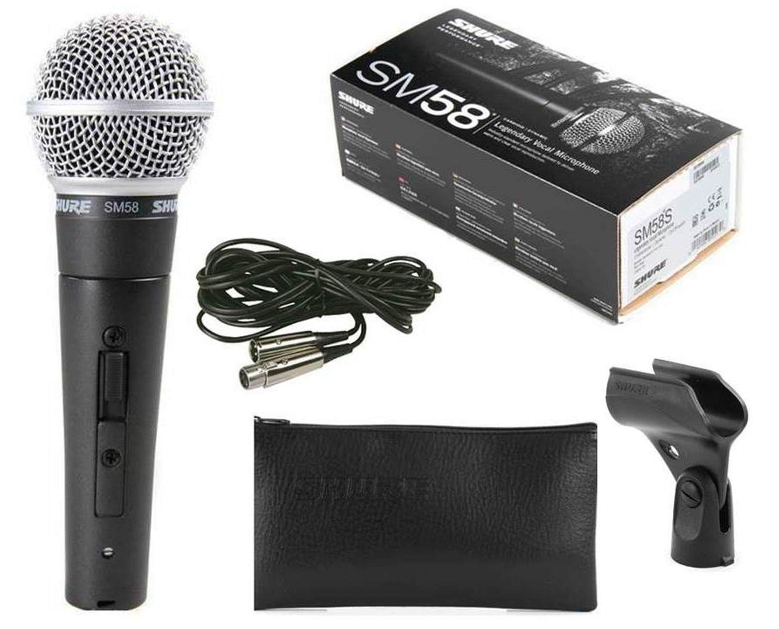 Shure SM58-CN Vocal Microphone with Cable - Acclaim Sound and ...