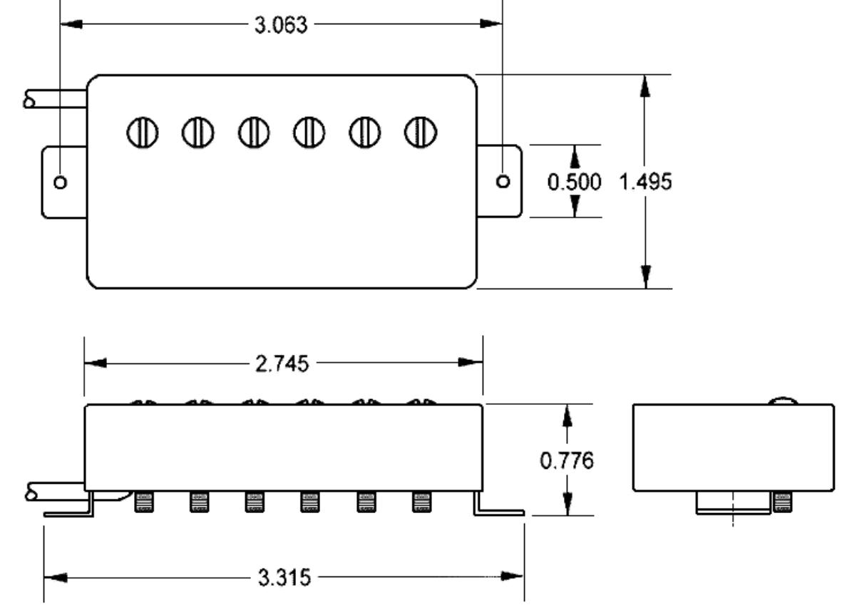 Seymour Duncan 11104 10 B Saturday Night Special Bridge Pickup In Ibanez Rga42 Wiring Diagram Black Acclaim Sound And Lighting Canada