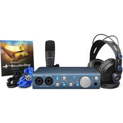 Presonus Audiobox iTwo Studio Pack Complete Mobile Hardware/Software Recording Kit