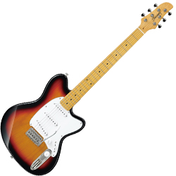 Ibanez TM330M-TFB-d Talman Series 6 String Electric Guitar in Tri Fade Burst Finish (discontinued clearance)  (Prior Year Model)