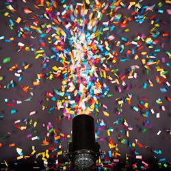 Chauvet DJ FRC Multi-Colored Funfetti Shot Refill
