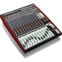 Behringer UFX1604 XENYX Series Premium 16-Input 4-Bus Mixer with 16x4 USB/FireWire Interface