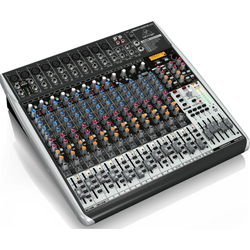 Behringer QX2442USB XENYX Series Premium 24-Input 4/2-Bus Mixer with XENYX Mic Preamps