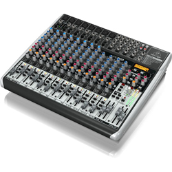 Behringer QX2222USB XENYX Series Premium 22-Input 2/2-Bus Mixer with XENYX Mic Preamps (Open box clearance Mint)