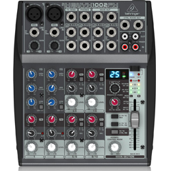 Behringer 1002FX Xenyx Series Premium 10-Input 2-Bus Mixer with British EQs and Multi-FX Processor