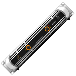 Behringer NU3000 iNUKE Series 2 Channel Ultra-Lightweight High-Density 3000W Power Amplifier