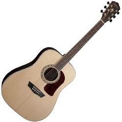 Washburn HD20SCE-O Heritage 20 Series 6 String Acoustic Electric Guitar in Natural (discontinued clearance)