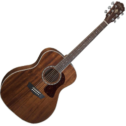 Washburn HG12S-O Heritage 10 Series 6 String Grand Auditorium Acoustic Guitar in Mahogany