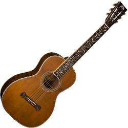Washburn R320swrk Vintage Series Parlor Acoustic Guitar In Natural