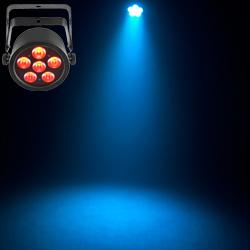 Chauvet DJ SlimPAR T6 USB Wireless Low Profile High Output RGB LED PAR Light