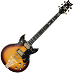 Ibanez AR725-VLS AR Series Vintage Style 6 String Electric Guitar in Violin Sunburst Finish (discontinued clearance)